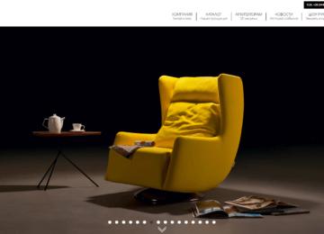 Адаптивная верстка сайта производителя мебели Blanche